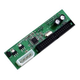 Ide hdd 2.5 онлайн-Wholesale- SATA TO PATA IDE Converter Adapter Plug&Play Module Support 7+15 Pin 3.5/2.5 SATA HDD DVD Adapter