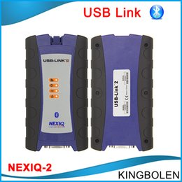 Wholesale Diagnostic Code Nexiq - NEXIQ-2 USB Link Bluetooth nexiq 2 V9.5 Software Diesel Truck Diagnostic Interface with All Installers NEW INTERFACE DHL free Shipping