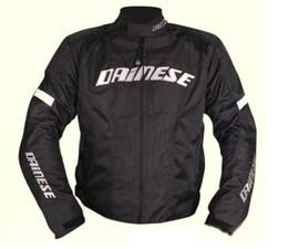Wholesale Men Motorcycle Summer Jacket - Free shipping summer mesh jacket motocross racing motorcycle racing jackets +5 pcs protection Black green protector pads