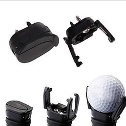 Wholesale Golf Grip Aid - Brand New Golf Ball Pickup Mini Golf Pick-up Grabber Back Saver Claw Put On Putter Grip Golf Ball Retriever Golf Training Aids Y0822
