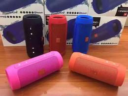 Canada VENTE CHAUDE Son incroyable Charge 2+ Bluetooth Appel extérieur Haut-parleur Mini haut-parleur Les haut-parleurs Bluetooth étanches peuvent être utilisés comme source d'alimentation Offre