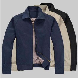 Wholesale Slim Male Clothes - 2017 New Small Horse Business Casual Men's Jackets Coats Male Outdoor Tops Outwear Autumn Brand Clothing Man