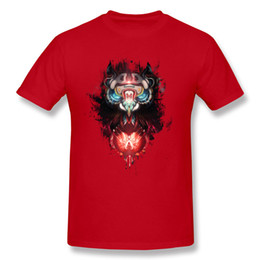 Wholesale Art Online Prints - Fantasy owl T Shirts Online Shopping T Shirt Men Cotton Black animal cartoon print shirt for guys 12 colors Art T Shirts.