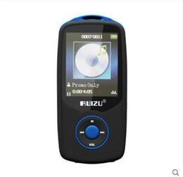 tablero del amplificador bluetooth Rebajas descargas de música gratuitas multimedia Reproductor de MP3 Bluetooth de 4 gb Puede reproducir 100 horas, soporte original RUIZU X06 Tarjeta TF de 64 gb