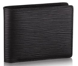 Wholesale Multiple Wallet - MULTIPLE WALLET M60662 WALLET Fashion Togo Epsom Leather designer clutch Genuine leather wallet with box dust bag 41593