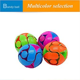 Wholesale Magic Flower Ball - IN STOCK children's movement hand drop drop magic magic flowering stretch ball children throw in the air will change the color ball toys