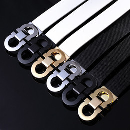 Wholesale Belt Straps For Women - Mens Designer Belts Luxury High Quality Belts For Men And Women Smooth Buckle Luxury Leather Genuine Belts Large Size Cowboy Hip Strap