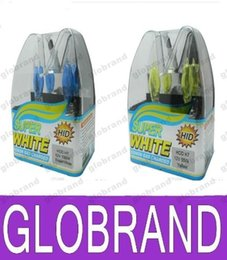 Wholesale H4 Led Yellow - New Xenon H7 HOD Super White   Yellow Halogen Bulb Car Light 12V 100W 6000K free shipping GLO366