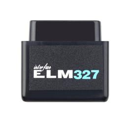 Wholesale Pc Elm327 Obd2 - Super Mini ELM327 V2.1 Bluetooth OBD2 Scanner ELM 327 elm327 OBD2 diagnostic scanner for Android Torque PC