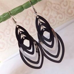 Wholesale Macrame Earrings - Hook-ups Macrame Eardrop Earrings for Women 2016 Earings Fashion Jewelry 089 Long Earrings Aretes Pendientes Hombre Big Earrings