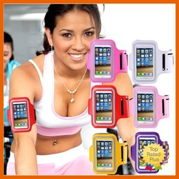Wholesale Iphone5 Case Water - iPhone 7 6S SE Waterproof Sports Running Arm Band Arm Case Pounch For Apple iPhone5 5S 6 6s Samsung S7 Arm Bag Band GYM