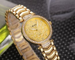 Wholesale Gold Watch Diamonds Cheap - Fashion Ladies Wristwatches Diamond Dial with Top Alloy Strap Women Watches Cheap China Watches Brand BELBI