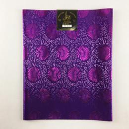 African Sego Headtie High Quality, 2pcs / Bag Headscarf, 0752 100% African Sego Headtie Wrapper para la boda desde fabricantes