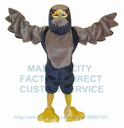Wholesale Hot Fancy Dress Costumes - new falcon mascot costume hot sale high quality sport cartoon eagle falcon hawk theme anime cosply costumes carnival fancy dress 2766