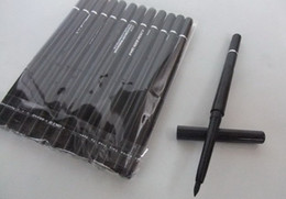 Wholesale Eyeliner Pencil Makeup Rotary Retractable - FREE SHIPPING New Makeup Rotary Retractable Black brown Eyeliner Pen Pencil Eye Liner 36pcs lot