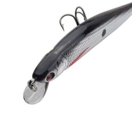 Wholesale Laser Fishing - ProLeurre 9CM Floating Minnow Fishing Lures Artificial 7.5G Laser Hard Baits High Quality 3D Eyes Wobblers Crank Fish Lures