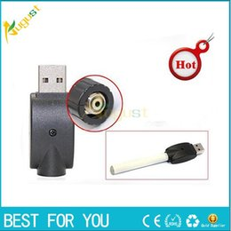 Wholesale Charger Electric Cigarette Ego - New wireless eGo Battery Charger USB electric cigarette smoking metal pipe sneak a toke click n vape charge computer USB