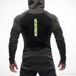 Bodybuilding anzüge online-New Mens Bodybuilding Hoodies Gymnastik-Trainings-Shirts mit Kapuze Sport-Klagen-Trainingsnazug Männer Chandal Hombre Gorilla Tier tragen