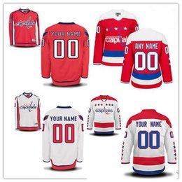 washington capital jersey 2019 - Stitched Custom Washington Capitals mens  womens youth Home Red White Third be2bc5fa6