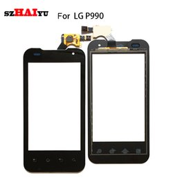 Wholesale Optimus 2x - Touch Screen For LG P990 P999 Optimus 2X G2X 4G Touch Sensor -- Tested Good Working Sensor Digitizer Assembly + Free Tools