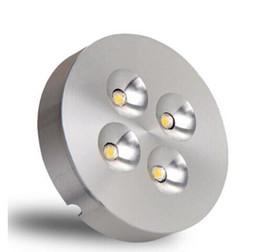 Fabbrica all'ingrosso 12 W Silvery Dimmable LED Puck Luce Calda Naturale Freddo LED Bianco Sotto Le Luci del Governo Per La Casa / Commerciale LED Puck Lights da ha portato la lampadina fornitori