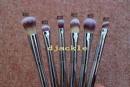 Wholesale Eyebrow Powder For Wholesale - Top quality Makeup 6pcs Brushes set it cosmetics brush for ULTA live beauty fully flawless blush make up eye eyebrow nose brush