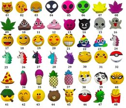 Wholesale Charger Cute - Emoji Power Banks Cute Power Charge Excrement OEM 2600mah Battery Mini Portable Mobile Capacity Unicorn Funny Mobile Cartoon Charger
