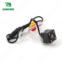 Wholesale Suzuki Car Light - CCD Track Car Rear View Camera For Suzuki Swift 2013 Parking Assistance Camera with Track Line Night Vision LED Light Waterproof KF-V1275L