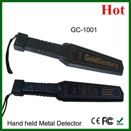 Wholesale wholesale hand held metal detector - Wholesale-Brand New Super Scanner Hand held Metal Detector, High Sentivity Body Scanner with Cheap Price GC-1001