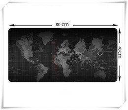 Wholesale Mouse Pad World - Wholesale-Large Size 800*400*3MM World Map Speed Game Mouse Pad Mat Laptop Gaming Mousepad
