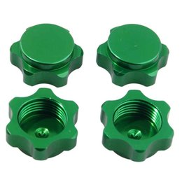 4fec876732b Chinese RC HSP Green Alum Wheel Hub Mount Nut 17mm Cover M12 For HSP 1: