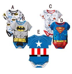 Wholesale French Halloween Costumes - Hotsell Summer Newborn Romper Kids Baby Cartoon Short sleeve Romper kids toddler cosplay costume 80-90-95 0-18month