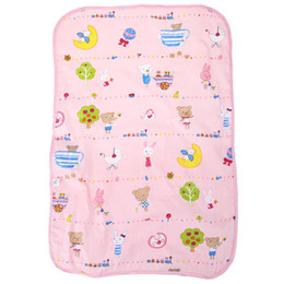 Wholesale Nappies Newborn - New Arrive Cotton Portable Waterproof Newborn Infant Bedding Changing Nappy Cover Pad Cute Baby Nappy Cover Pad For All Seasons
