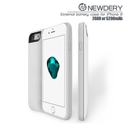 Wholesale Top Iphone Battery Case - 2016 top quality backup battery case for iphone6 from china supplier battery charger for iphone 7 power bank