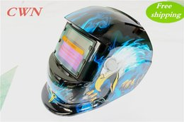 Wholesale Mask Welding Cheap - Cheap Solar auto darkening shading with grinding function welding mask helmet face mask goggles Make your hands free JZY-107 Free shipping