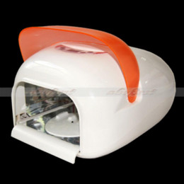 Wholesale Uv Nail Lamp Fan - 36W Auto Sensor Curing Nail Art Gel UV Lamp Fan Dryer 220V 110V + 4 Light Bulb