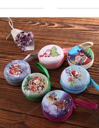 Wholesale horse cloth - hot sale Christmas gifts creative gifts Santa Claus window tree ball hanging piece ma tin iron receive zero wallet wholesale