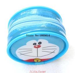 Wholesale Halloween Doraemon - 50Pcs fashion popular Doraemon HAND Coin Purse Wallet Pouch Case BAG ; Women Lady Bags Pouch Makeup Case Holder BAG Handbag