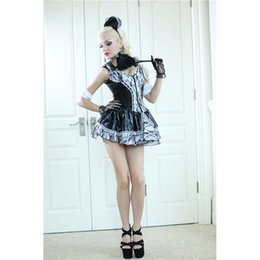 Wholesale Sexy Maid Servant - Sexy Frech Maid Servant Black and White Adult Woman's Maid Uniform