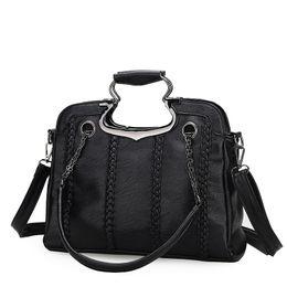 Wholesale Free Cell Bag Crochet - 2016 Crochet shoulder bags woman bags fashion Handbag new cross bags winter Diamond rivets free shipping