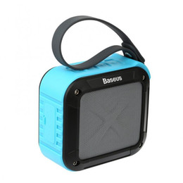 Wholesale Mini Sub Speaker - Baseus Bike riding sub bluetooth stereo Outdoor portable wireless hands-free calls Card speakers Army green Sky blue