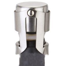 Wholesale Cork Bar - hot Portable Cork Preserver Sparkling Wine Champagne Bottle Stopper Air Seal Plug Bar Gift Home use