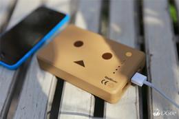 Robô ipad on-line-Hot vende Japão Cheero Poder Mais Danboard versão 10400 mAh cor Móvel Marrom caixa de Energia portátil banco De Potência para iphone ipad