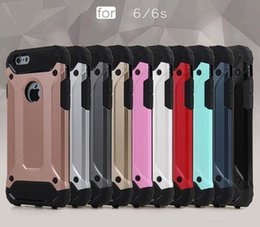 Wholesale Sgp Slim Armor For Iphone - SGP Tough Slim Armor Hybrid Rugged Impact PC TPU Case For iPhone 5 6 6S Plus Samung Galaxy S6 S7 Edge Note Note5