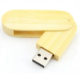 2019 disegni rotondi Chiavetta USB arrotondata in legno 4GB 8GB 16GB 32GB 64GB USB Flash Drive Pen Memory Stick Maple Mogano Noce Legno di bambù disegni rotondi economici