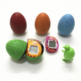 Wholesale Random Key - Montessori Electronic Virtual Pets Random Colors Hatchimals Egg Tamagotchi Classical Game As Key Ring Gifts for Kids