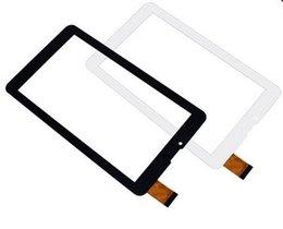 """Средний дигитайзер планшета онлайн-Оптовая-а + протестирован новый сенсорный экран Digitizer для 7 """" Тайна MID-753G MID753G планшет сенсорная панель стекло замена датчика"""