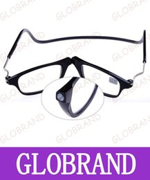 Wholesale Glass Read - GLXY29 Magnetic Reading Glasses With Diopter +1.0 +1.5 +2.0 +2.5 +3.0 +3.5 +4.0 Men Women Spectacles Old People 3 Colors