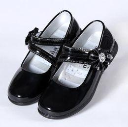 Wholesale Little Girls Heels - 2016 Summer Girls Sandals Fashion Children Princess Dress Shoes PU Leather Female Child Flat Shoes (Little Kid Big Kid)