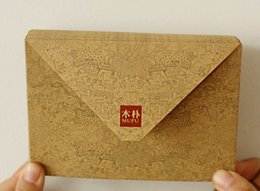 Wholesale Manila Wholesalers - Wholesale- Manila envelope fine DIY personality Retro kraft envelope free shipping